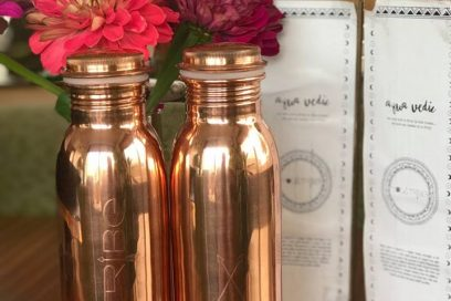 Aqua Vedic copper drink bottles