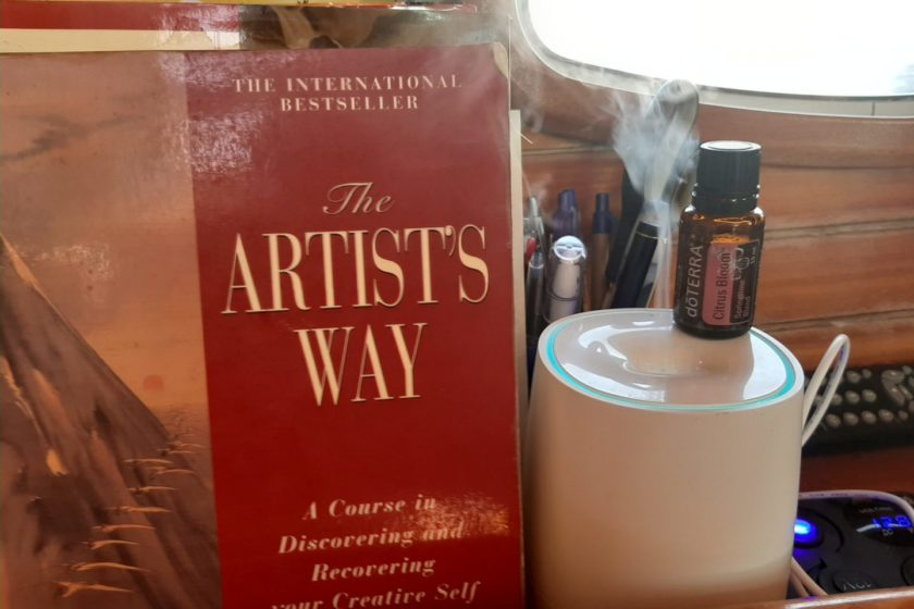 Essential Oils to support your creativity / aromatic anchors